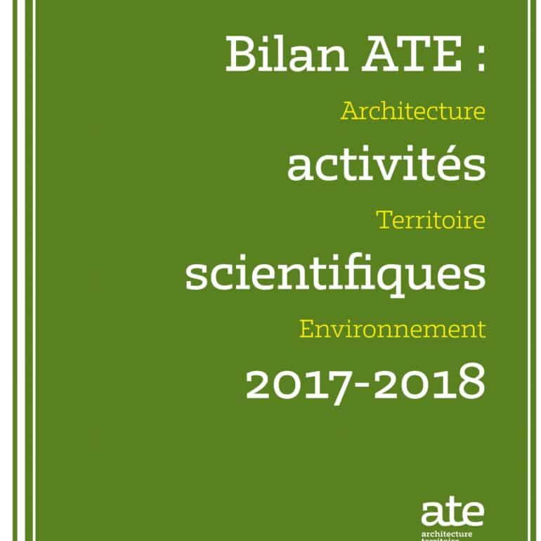 Bilan ATE 2017-2018