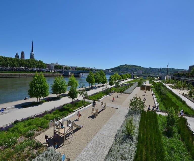 Quai de Seine Rouen