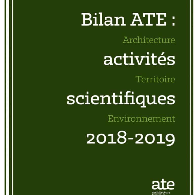 Bilan ATE 2018-2019
