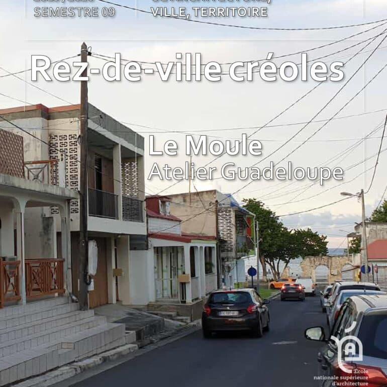 Le Moule, Rez-de-ville créoles 2019-2020