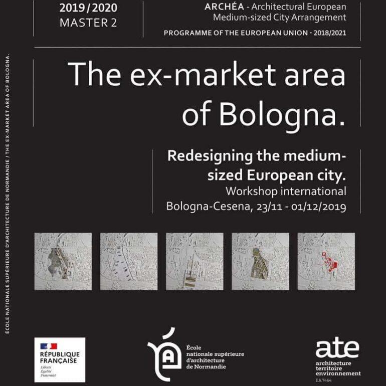 The ex-market area of Bologna.