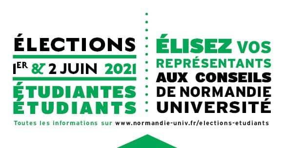Élections – Représentants étudiants aux conseils de Normandie Université